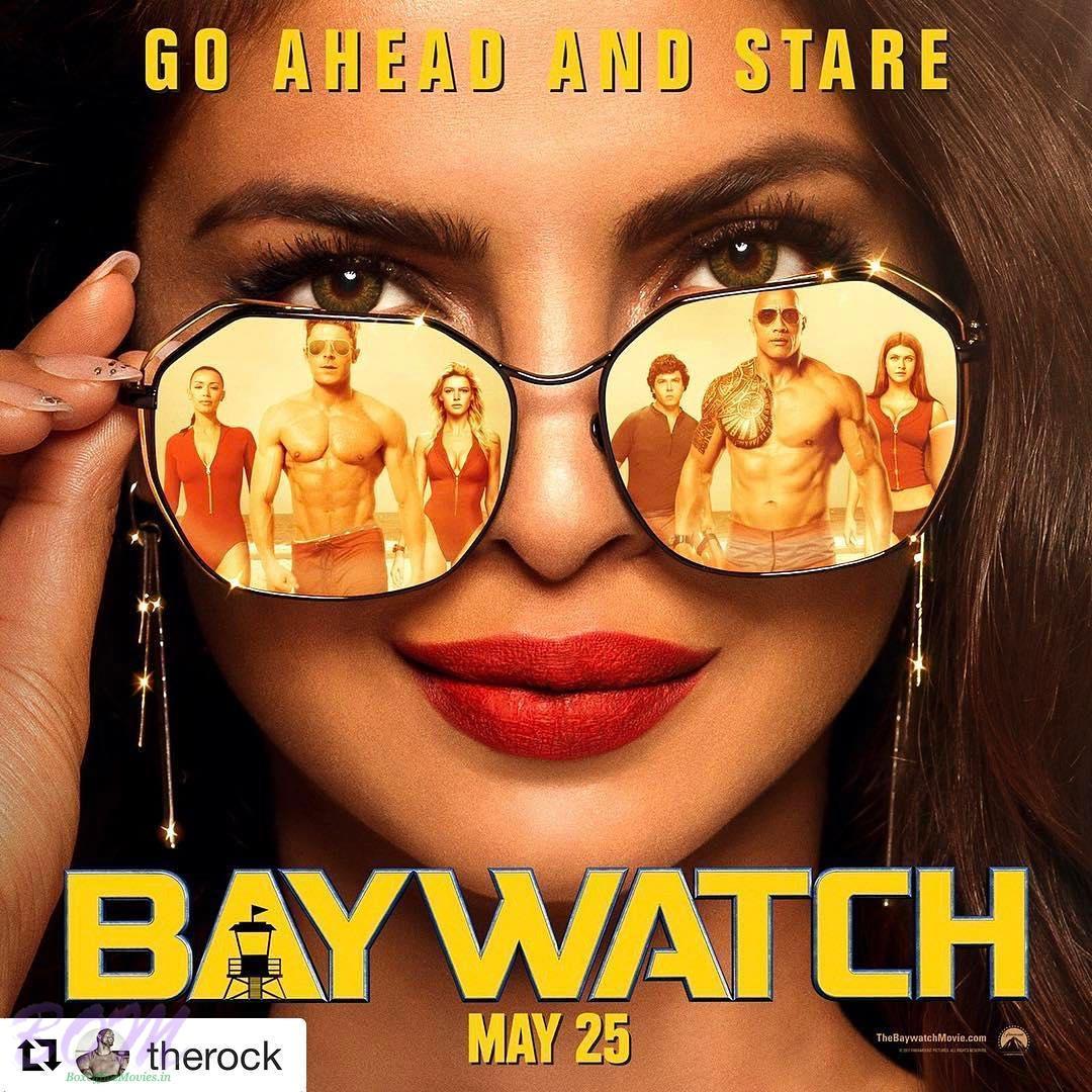Priyanka Chopra starrer Baywatch movie poster
