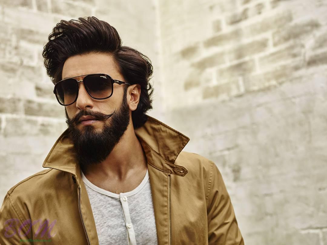 Ranveer Singh popping colar style