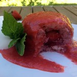 Strawberry summer pudding