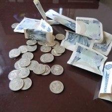 一度開けた500円玉貯金箱を再利用する方法