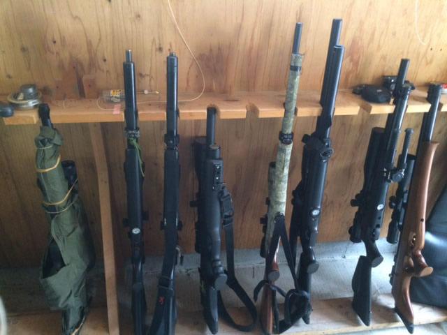 空気銃いっぱい
