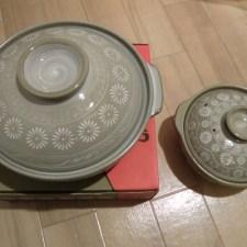 カモ鍋用の土鍋。大きいのを買うか小さいのを買うかで迷ったら・・・