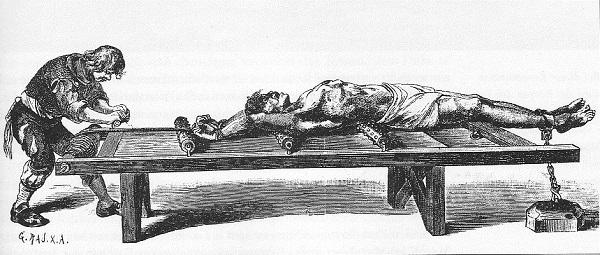 中世の拷問