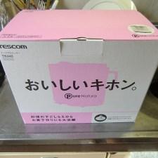 安いフードプロセッサ、テスコムTK440をジビエ料理用に買ってみた。
