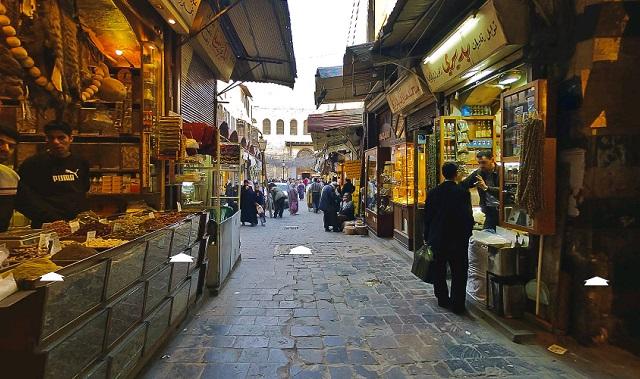 ダマスカスの路地裏