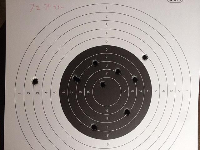 モスバーグ製M870サボット銃身でサボット弾を撃ち比べしてきた。