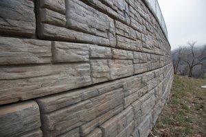 recon retaining wall