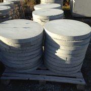 concrete pads