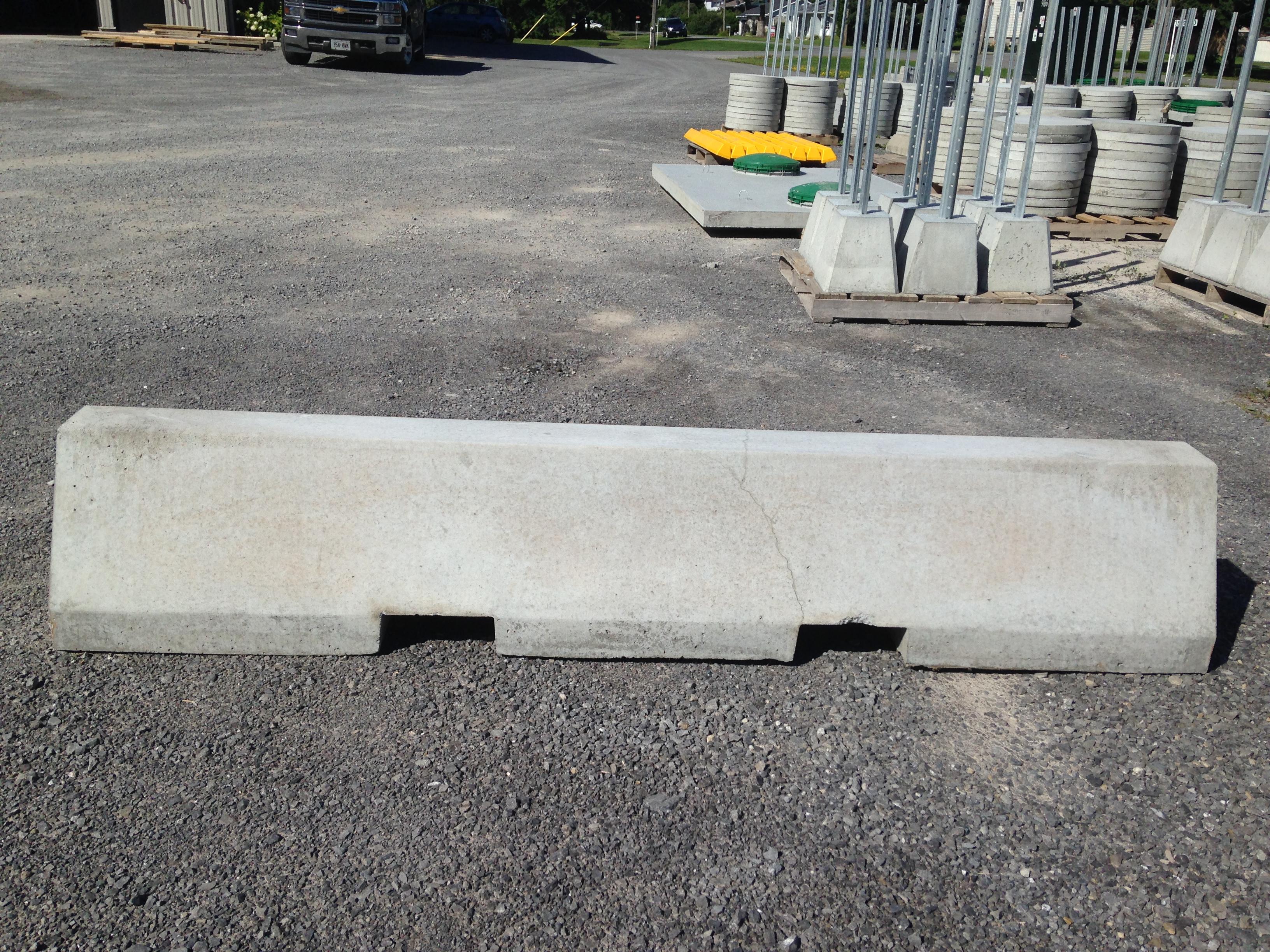 Concrete Pole Barriers : Precast concrete products boyd bros ottawaboyd