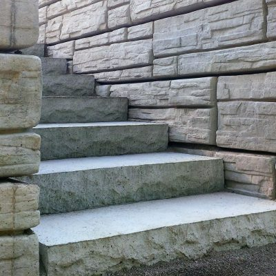 precast natural stone steps