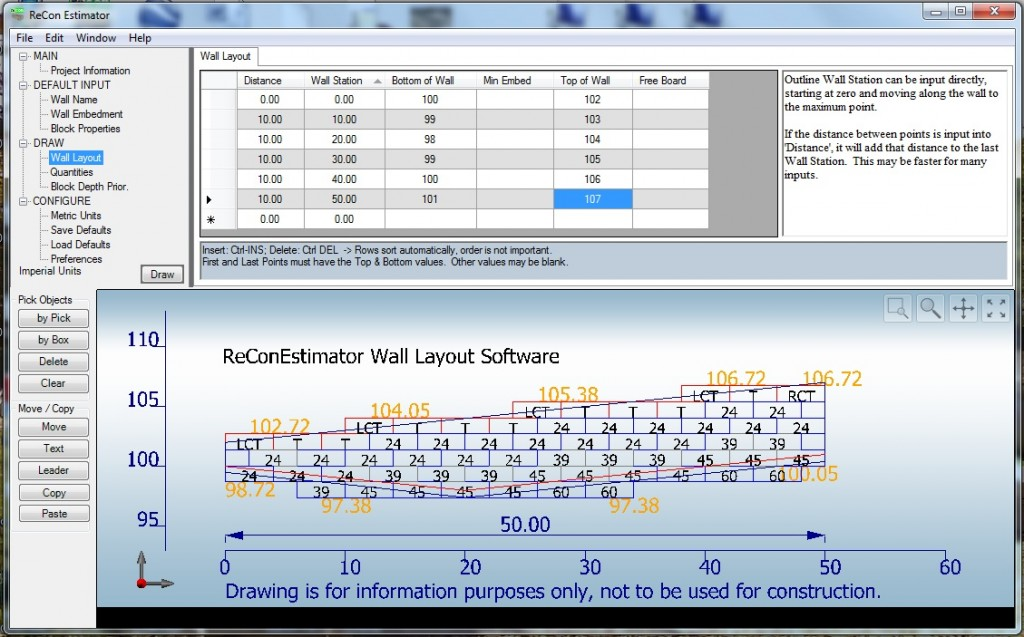 Recon Layout Software Boyd Bros Concrete Ottawa