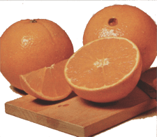 Florida fresh oranges, tangerines, navels