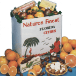 Florida oranges, tangerines, grapefruit, tropical jams, pecans, coconut patties, pecan log