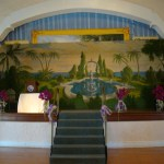 Stage mural
