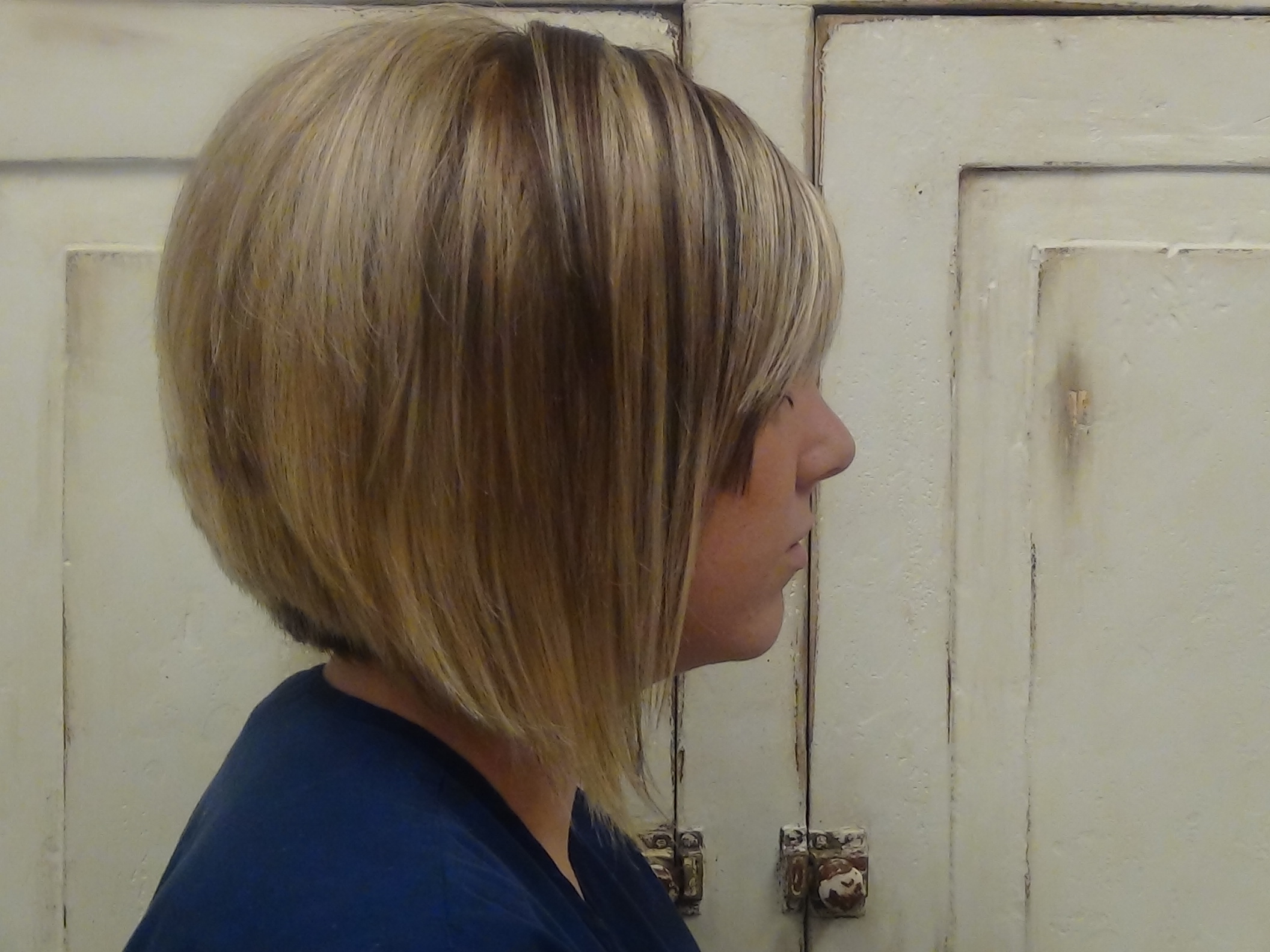 Cut Medium A Line Into Long Hair Haircut Boys And Girls