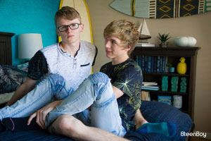 Blond Bareback Jamie Ray And Jimmy Andrews 8TEENBOY