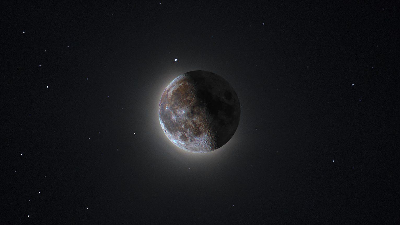 HDR Mjesec