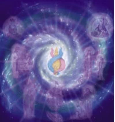 Swirling Cosmos