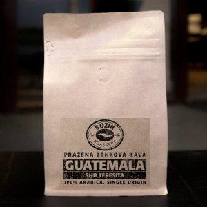 Prazena zrnkova kava - Guatemala SHB Teresita single origin arabica