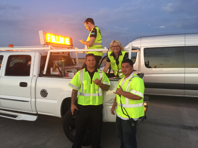 Tim and Jarris on Truck with SI II Crew