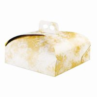 BP Scatole Torta e portapaste scatola spatolata gialla