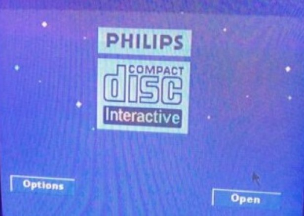 Philips CDi 490 home screen