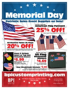 Patriotic Sales Event Flyer