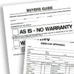 BPI Automotive Dealer Forms