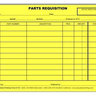 Part requisition bpi dealer supplies youre viewing part requisition 800 maxwellsz