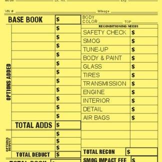 81153-Vehicle-Appraisal-Yellow