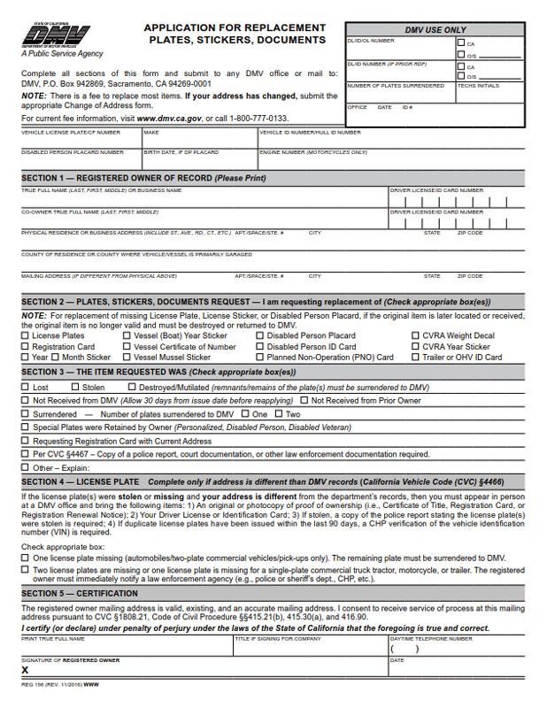 2-Part Reg 262 Vehicle Vessel Transfer - BPI Custom Printing