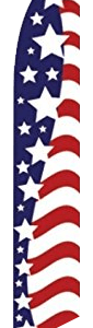 Stars & Stripes Swooper Flag
