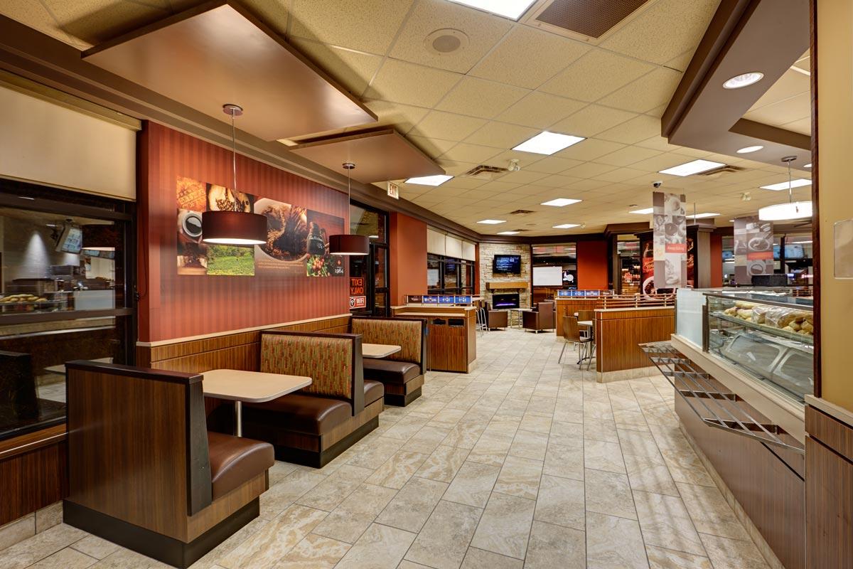 Booth Interior Design