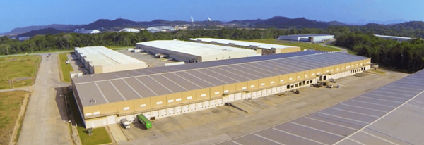 Instalaciones de BP Logistics en Panamá Pacífico