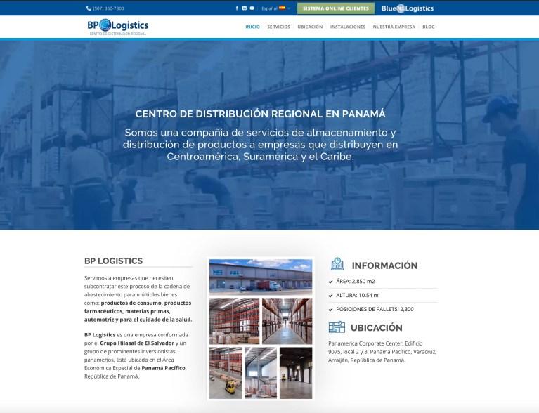 Control de inventario en línea BP Logistics