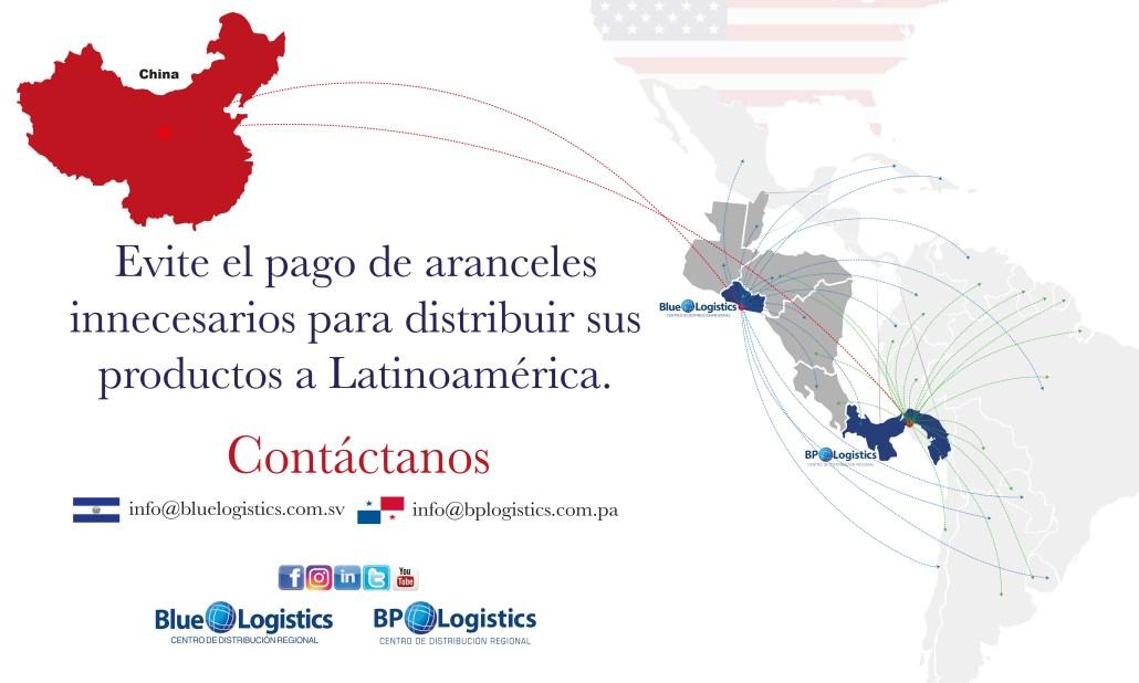 Hub Logístico - BP Logistics - Distribución - China