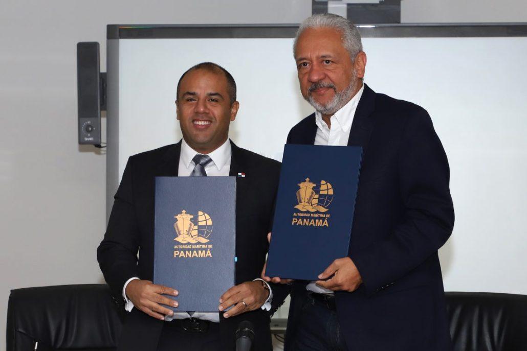 AMP y Canal de Panamá actualizan convenio de Ventanilla Única Marítima