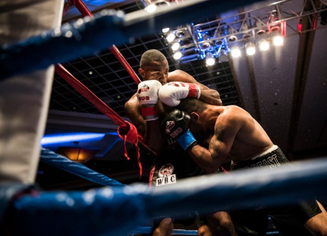 Just three weeks after defending his WBC USNBC welterweight crown, Jimmy ÒQuiet StormÓ Williams of West Haven will be back in the ring for another bout. Williams will make his second title defense against Juan Rodriguez Jr. on Sept. 16 at Twin River Casino in Lincoln, Rhode Island. Williams, 30, a former Southern Connecticut State football player, who is a truancy officer in West Haven, will take a 14-0-1 record with six knockouts into the fight. We will profile Williams, tracking his prep for the fight, the fight itself and the comedown after, and delve into his personal story, including the unsolved murder of his mother when he was in college.