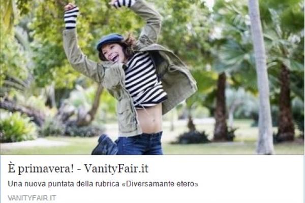 Giovanna Donini parla di noi su VanityFair