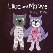 """""""Lilac and Mauve - Rolfe"""". Casa editrice """"Your Stories Matter"""". Lingua inglese"""