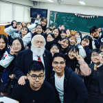 buena park high school students visit korea school