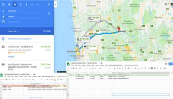 How to Export Google My Maps Data Table to Excel | bpwebs.com Import Excel To Google Maps on import csv, import powerpoint, import database,