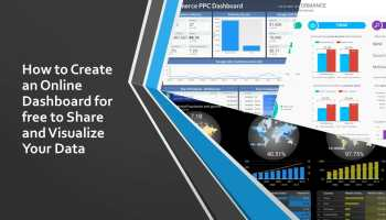 How to Create an Online Dashboard for free to Share and Visualize Your Data