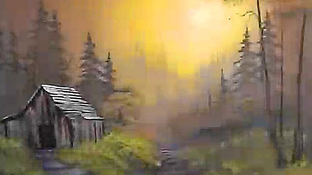 Bob Ross Gemalde Fruhling Gras Malerei Video Youtube