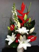 fleuriste pornichet, bouquet de fleurs exotiques