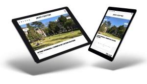 Jean Rottner, maire de Mulhouse, a confié la création de son site internet à l'agence Mars Rouge.