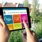 Un site internet d'un constructeur de maisons bois réalisé par l'agence MARS ROUGE à Neuchâtel