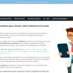 Webodoc : Des informations pour choisir votre traitement en toute sécurité
