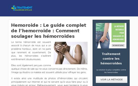 Hémorroides : comment les traiter efficacement?