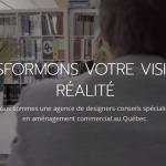 Le Design Studio : aménagement commercial au Québec